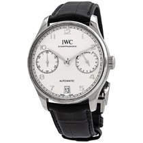 IWC Portuguese Automatic Steel 42mm Silver Arabic numerals United States of America, New York, New York