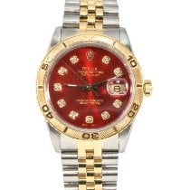 Rolex Datejust Turn-O-Graph Gold/Steel 36mm Red United States of America, New York, New York