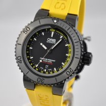 Oris Aquis Depth Gauge Steel 46mm Black No numerals United States of America, Ohio, Mason