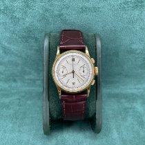 Patek Philippe Chronograph occasion 33mm Argent Chronographe Cuir