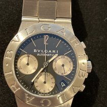 Bulgari CH 35 S Steel Diagono 35mm pre-owned United States of America, Connecticut, Southport