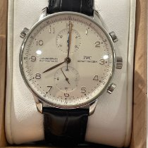 IWC IW3712 Steel Portuguese Chronograph 41mm pre-owned
