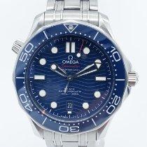 Omega Seamaster Diver 300 M Acier 42mm Bleu Sans chiffres France, Paris