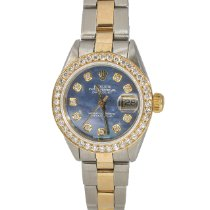 Rolex 6916 Gold/Steel 1979 Oyster Perpetual Lady Date 26mm pre-owned United States of America, New York, New York