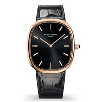 Patek Philippe Golden Ellipse Rose gold 34.5mm Black No numerals United States of America, New York, New York