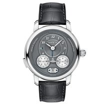 Montblanc Nicolas Rieussec Steel 44.8mm Grey Arabic numerals United States of America, New Jersey, River Edge