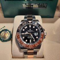 Rolex GMT-Master II Acero y oro 40mm Negro Sin cifras México, Alvaro Obregon