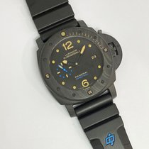 Panerai Luminor Submersible 1950 3 Days Automatic Carbon 47mm Black Arabic numerals