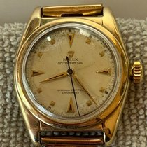 Rolex Bubble Back Yellow gold 32mm White United States of America, California, Woodland Hills