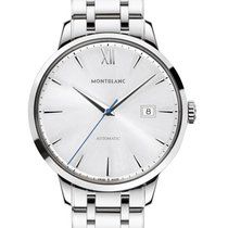 Montblanc new Automatic Display back Steel Sapphire crystal