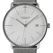 Junghans 027/4002.46 Steel 2020 max bill Automatic 38mm new