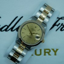 Rolex Oyster Perpetual Date Gold/Steel 34mm Champagne United Kingdom, Liverpool