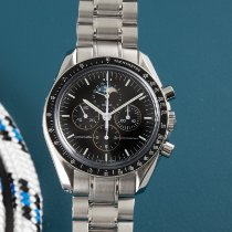 Omega Speedmaster Professional Moonwatch Moonphase Steel 42mm Black