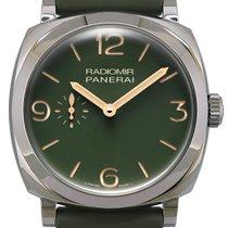 Panerai Radiomir occasion 45mm Vert Boucle ardillon