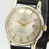 Omega 14393 Gold/Steel 1961 Constellation 34.5mm pre-owned