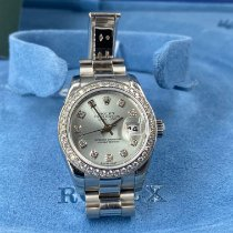Rolex Lady-Datejust Platino 26mm Azul