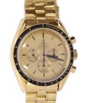 Omega Or jaune Remontage automatique Or Sans chiffres occasion Speedmaster Professional Moonwatch