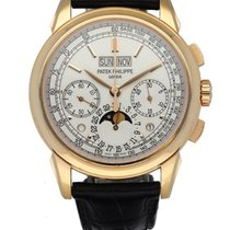 Patek Philippe Perpetual Calendar Chronograph Rose gold 41mm Silver United States of America, New York, New York
