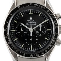 Omega Speedmaster Professional Moonwatch Stål 42mm Sort