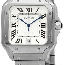 Cartier WSSA0018 Steel 2010 Santos (submodel) 42mm new United States of America, New York, New York