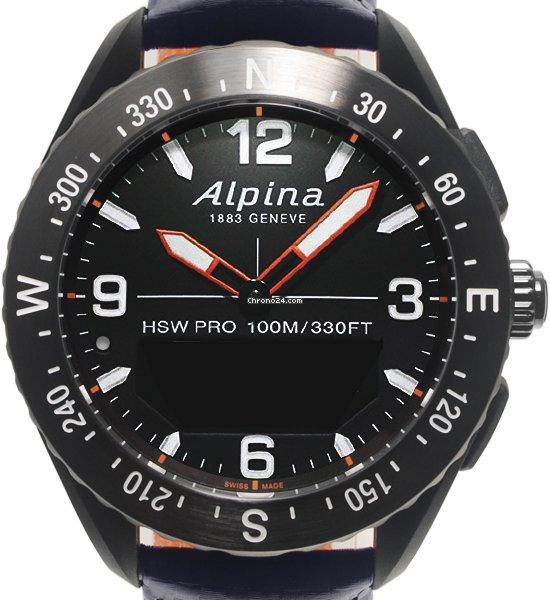 Alpina Horological Smartwatch AL-283KSCUSTOM 2018 подержанные