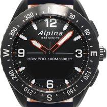 Alpina Horological Smartwatch Сталь 46mm Черный