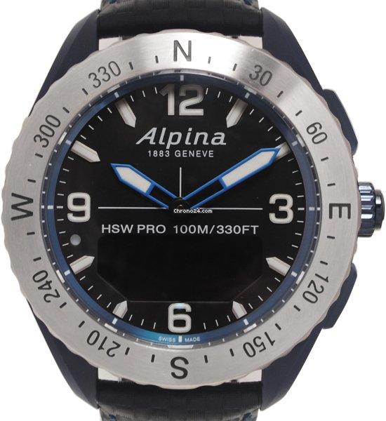 Alpina Horological Smartwatch AL-283KSCUSTOM 2018 usado