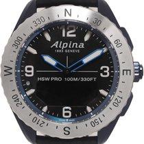Alpina Horological Smartwatch Steel 46mm Black