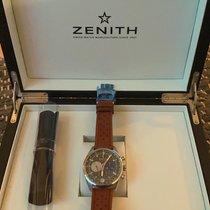 Zenith El Primero 36'000 VpH Acier 42mm Noir Sans chiffres France, Paris
