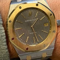 Audemars Piguet Royal Oak Jumbo Goud/Staal 39mm Grijs