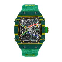 Richard Mille pre-owned Automatic 38.7mm Sapphire crystal