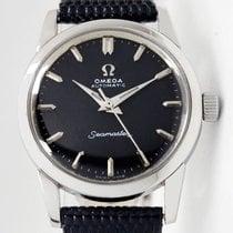 Omega Seamaster Steel 30mm Black No numerals
