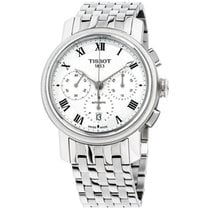 Tissot Bridgeport Steel 42mm Silver Roman numerals United States of America, New Jersey, Somerset