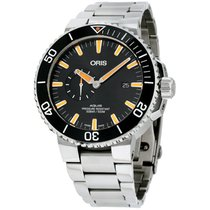 Oris Aquis Small Second Steel 46mm Black United States of America, New Jersey, Somerset