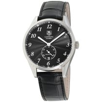 TAG Heuer Carrera Calibre 6 Steel 39mm Black Arabic numerals United States of America, New Jersey, Somerset