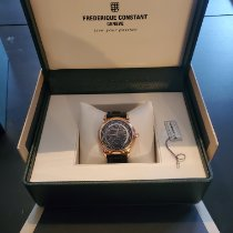 Frederique Constant Manufacture Worldtimer Gold/Steel Grey United States of America, Illinois, Glen Ellyn