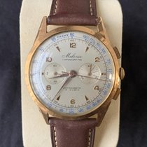 Lemania Rose gold Manual winding 37,8mm pre-owned