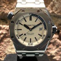 Audemars Piguet 15710ST.OO.A010CA.01 Staal 2020 Royal Oak Offshore Diver 42mm tweedehands