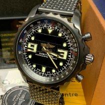 Breitling Chronospace Сталь 48mm Черный Aрабские