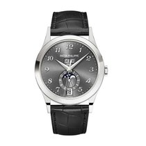 Patek Philippe Annual Calendar White gold 38.5mm Grey United States of America, New York, NY