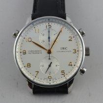 IWC Portuguese Chronograph IW371202 Ottimo Acciaio 41mm Manuale Italia, Roma