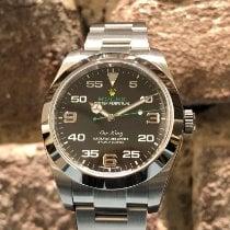Rolex Air King Сталь 40mm Черный Aрабские