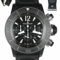 Jaeger-LeCoultre Master Compressor Diving Chronograph GMT Navy SEALs подержанные 46mm Черный Хронограф Кожа