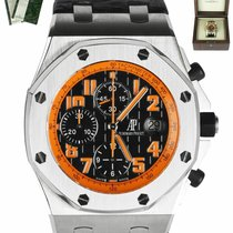 Audemars Piguet Royal Oak Offshore Chronograph Volcano Acier 42mm Noir