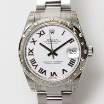 Rolex (ロレックス) レディース デイトジャスト 新品 自動巻き 正規のボックスと正規の書類付属の時計 178344