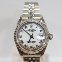 Rolex Oyster Perpetual Lady Date Acero 26mm Blanco Romanos España, Lugo