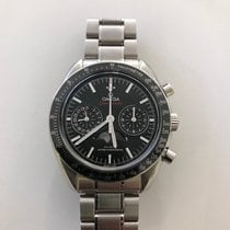 Omega Speedmaster Professional Moonwatch Moonphase occasion 44mm Noir Phase lunaire Chronographe Date Tachymètre Acier