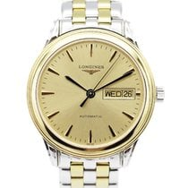 Longines Steel 35mm Automatic L4.799.3.32.7 pre-owned