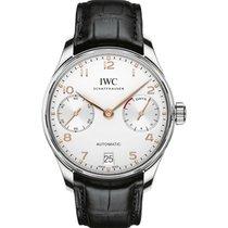 IWC Portuguese Automatic ny Automatisk Kronograf Klocka med originallåda och originalhandlingar IW500704