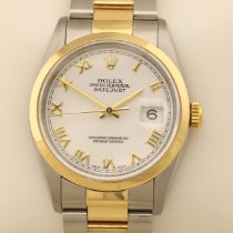 Rolex Datejust 16203 Sehr gut Gold/Stahl 36mm Automatik